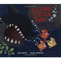 The Three Little Fish And The Big Bad Shark [ISBN: 978-0439