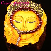 水晶密码CrystalPassWord 原创天然巴西石榴石小鱼手链女款SJMM3-003
