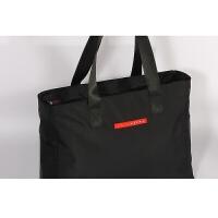 短途旅行包手提行李包女健身包出行手提袋轻便旅行袋大容量手提包世帆家SN1760 黑色