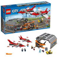 7月新品乐高城市系列60103机场飞行表演 LEGO City 积木玩具趣味