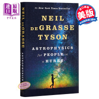 【中商原版】简易天体物理学 英文原版 科普读物 Astrophysics for People in a Hurry Neil Degrasse Tyson 给忙人的天体物理学