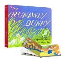 逃家小兔纸板书 英文原版绘本The Runaway Bunny 吴敏兰廖彩杏书单 晚安月亮作者玛格丽特Margaret Wi书单 晚安月亮作者玛格丽特Margaret Wise Brown0-4岁