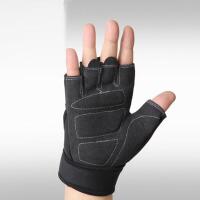 户外健身手套男士小护腕女士运动手套健身房防滑半指 器械护具