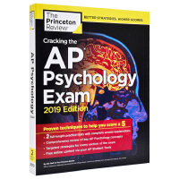 【中商原版】破解AP心理学考试2019 英文原版 Cracking AP Psychology Exam 2019 Princeton Review 考试书籍
