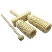 奥尔夫乐器 高低梆子 高低音梆子 幼儿园乐器打击乐器
