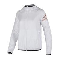 Adidas阿迪达斯 女装 2018新款训练运动休闲防风夹克外套 CV5519