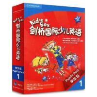 包邮剑桥少儿英语 剑桥国际少儿英语Kids`Box 1级(学生包可点读) 一级点读版适合5-12岁外研社幼儿园少儿英语