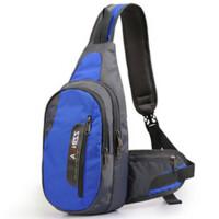 休闲运动胸包 男女户外旅小背包 单肩斜跨包骑行包