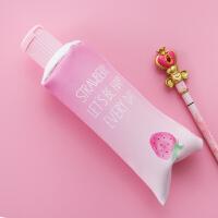 创意韩国笔袋简约女生小清新可爱初中生新高中铅笔盒大学生文具盒