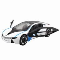 MZ美致 1:32 宝马i8 双开门 精致合金车 声光回力 合金汽车模型