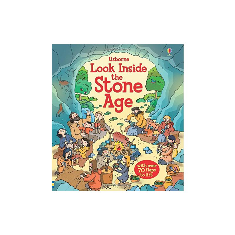 Look inside Stone Age 看里面纸板翻翻书:石器时代