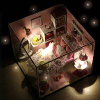 diy手工制作材料创意木制工艺品童年女孩儿童玩具礼物