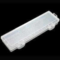 莫奈 塑料画笔盒 油画笔 水粉笔 水彩笔 丙烯画笔收纳盒 长杆笔盒