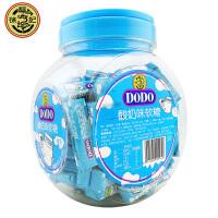 徐福记 DODO牛奶糖 鲜奶糖 1050g 100条罐装 两种口味任选 儿童零食糖果