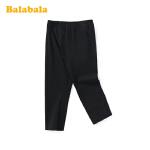 【2件6折价:31.2】巴拉巴拉童装女童打底裤2020新款夏装儿童裤子中大童弹力百搭透气