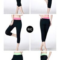 瑜伽服健身服 运动裤 七分裤 健身裤
