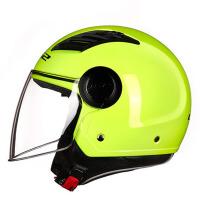摩托车头盔个性电动车四季半盔男女士半覆式帽子