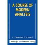 【预订】A Course of Modern Analysis