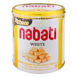 印尼进口 丽巧克纳宝帝香草牛奶味威化饼干 350g