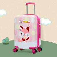 儿童旅行箱拉杆箱万向轮18寸卡通行李箱男孩拖箱可爱皮箱女登机箱