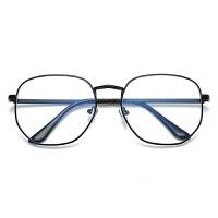 眼镜框女时尚韩版潮复古ulzzang网红同款大框圆脸平光近视眼镜框架男