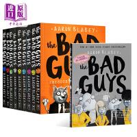 【中商原版】我是大坏蛋5册 英文原版 The Bad Guys Episode #1-5 儿童漫画 儿童章节书小说 Scholastic 学乐出版 Aaron Blabey 幽默风趣