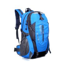 ?新款户外大容量防水登山包 旅游男运动包女韩版旅行双肩背包? 13_升级版绿色 升级版
