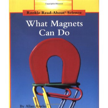 What Magnets Can Do (Rookie Read-About Science) [ISBN: 978-0516460345] 美国发货无法退货,约五到八周到货