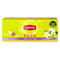 [当当自营] Lipton 立顿 茉莉花茶 2g*25
