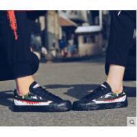 女鞋新款帆布鞋女学生韩版黑色潮鞋百搭情侣休闲板鞋