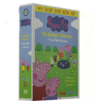 英文原版原装Peppa Pig DVD 粉红猪小妹英文原声字幕 小猪佩奇全4季 高清 儿童早教学英语动画片
