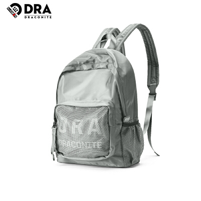 【支持礼品卡支付】DRACONITE潮牌双肩包男轻便个性反光防水学生书包尼龙背包