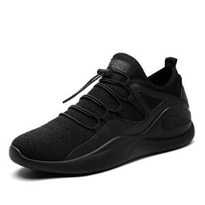秋冬季加棉加绒跑步鞋鞋男士休闲运动加绒鞋学生非主流韩版潮鞋保暖鞋