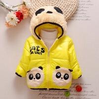 童装装女童棉衣1-2-3-4岁女宝宝加厚棉袄儿童婴儿保暖外套