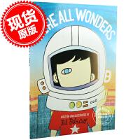 现货 我们都是奇迹 我们都是奇迹男孩 英文原版绘本 We're All Wonders 奇迹男孩故事绘本 R.J.帕拉