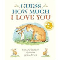 【�A�】Guess How Much I Love You Padded Board Book