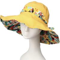大檐帽 夏天遮阳帽 防晒可折叠防紫外线太阳帽凉帽女士