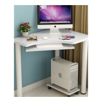 转角笔记本台式电脑桌拐角写字桌迷你墙角电脑桌书桌办公桌