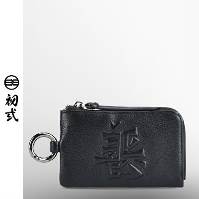 初弎卡包零钱包时尚潮流男女头层牛皮汽车善恶证件钥匙包
