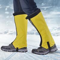 雪套户外儿童沙漠登山脚套女登山徒步鞋套男保暖