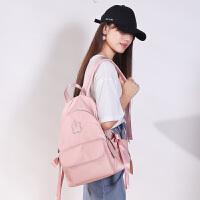 超火的双肩包女新款韩版百搭学生书包大容量休闲旅行背包