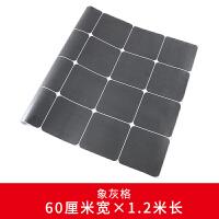 欧地板砖贴纸自粘厨房地面防水翻新阳台装饰瓷砖墙贴画加厚耐磨 加厚-象灰格 60厘米宽*120厘米长 中