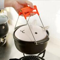 20191211165132216普润(PU RUN) 创意厨房用品不锈钢取碗夹 夹碗器 防烫碗碟夹提盘夹隔热夹
