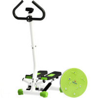 双超 踏步机家用 迷你 美体健身器材 静音扶手踏步机液压脚踏机 高清显示器 手扶杆 送扭腰盘