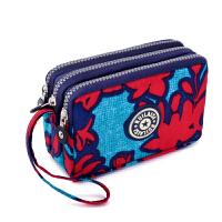 经典零钱包女式手机包简约手拿包布艺小包多层钥匙包轻便百搭钱包