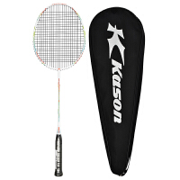 凯胜(KASON)超轻型羽毛球拍全碳素碳纤维单拍(已穿线)
