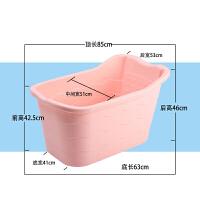 洗澡桶宝宝浴盆特大号加厚泡澡桶澡盆塑料沐浴桶保温洗澡盆桶