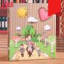 相册6寸 插页大容量5寸7寸宝宝纪念册创意礼品簿本520情人节礼物女生家庭影集母亲节礼物 our-story567寸(400张)