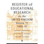 【预订】Register of Educational Research in the United Kingdom: