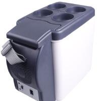 汽车车载冰箱 冷暖迷你小冰箱 便携式车用6L冷藏箱保温箱12V